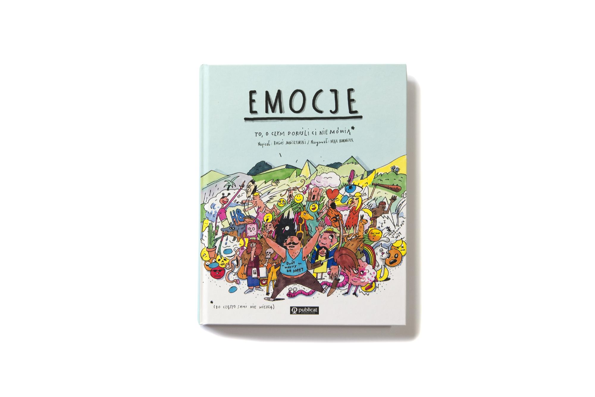 Książka Emocje - KumamGre.pl