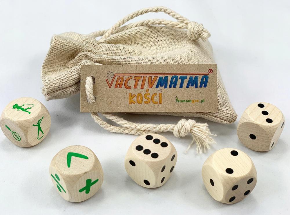 Kości ActivMatma - KumamGre.pl